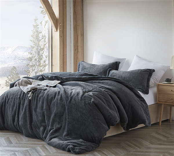 Chunky Bunny - Coma Inducer Oversized Twin Comforter - Faded Black - Limited Release