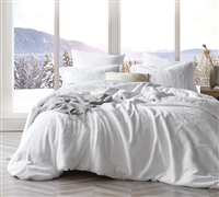 Chunky Bunny - Coma Inducer Oversized Queen Comforter - Pure White - Limited Release