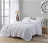 White Extra Large Duvet Cover to Encase Oversized Comforter Plush Coma Inducer Super Soft Bedding