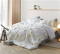 Southern Alps Textured Twin Comforter - Oversized Twin XL