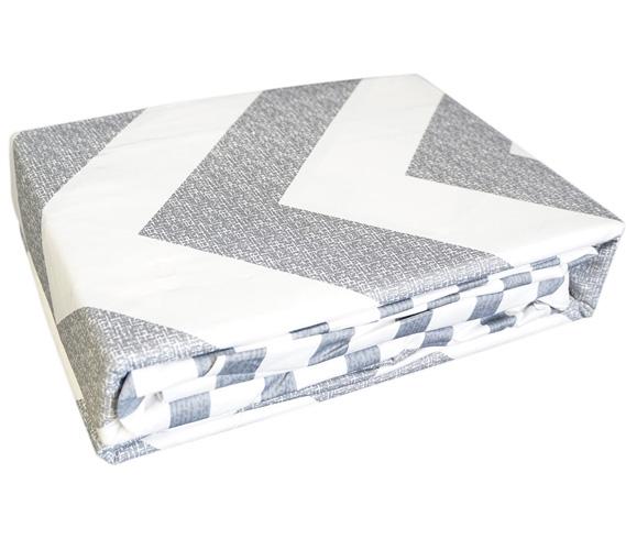 Chevron Gray Queen Sheets