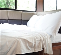 Square Double Sheet Set - RV Bedding (Available in 4 Colors)