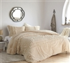 Sorry, Not Sorry - Coma Inducer Oversized King Comforter - Angora