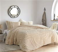 Sorry, Not Sorry - Coma Inducer Oversized Queen Comforter - Angora