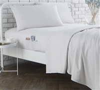 Bedside Pocket Full Sheet Set - Supersoft Jet Stream