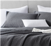 Pewter Softest Stone Washed Queen sized bedding Shams - comfortable queen bed shams with softest bedding feel