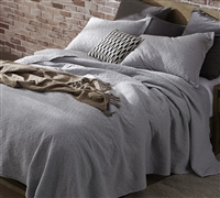 Softest Stone Washed Quilt - Tundra Gray - Oversized Twin XL