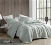Extra Large King Comforter in Easy to Match Gray with Stylish Matching Shams and Super Soft Plush