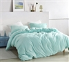 Unique Green Duvet with Matching Shams and Super Warm Short Luxury Plush Oversized Twin XL Duvet Cover