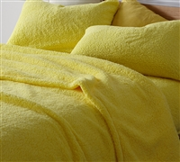 Coma Inducer Queen Sheets - The Napper - Limelight Yellow