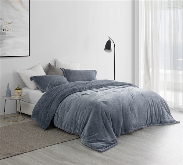 Amazingly Soft King Bedding Unique Coma Inducer Oversized King Comforter UB-Jealy Nightfall Navy King XL Bedding Decor