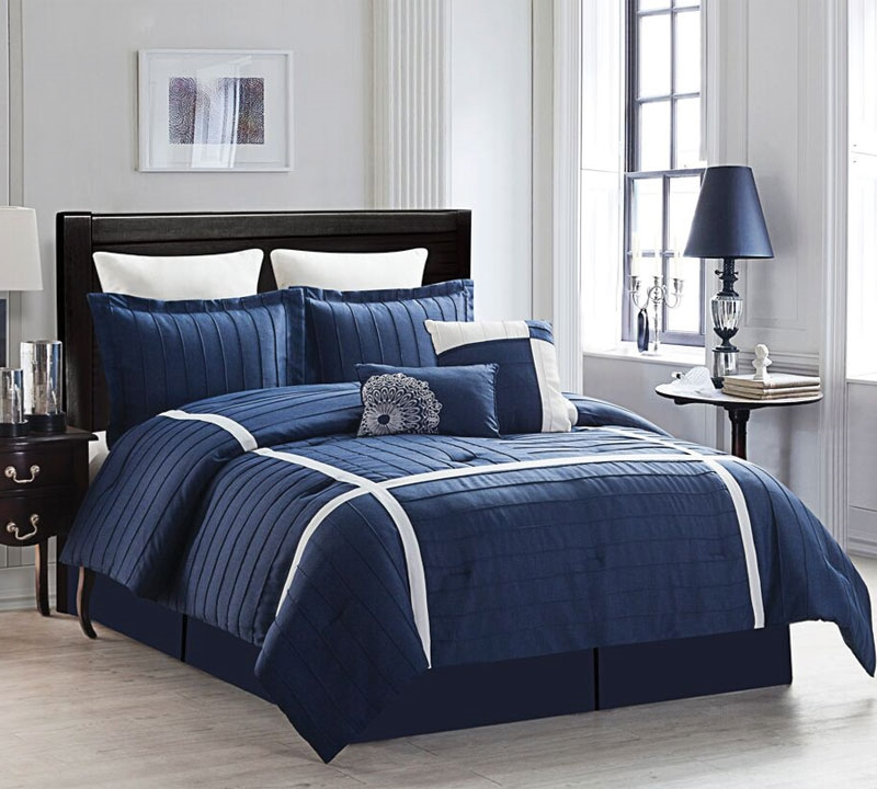Ellington 8 Piece King Comforter Set