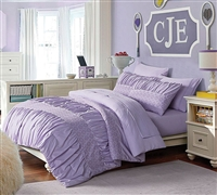 Janeth Purple Full Bedding Sets - Bed in a Bag Full Bedding Comforter Sets