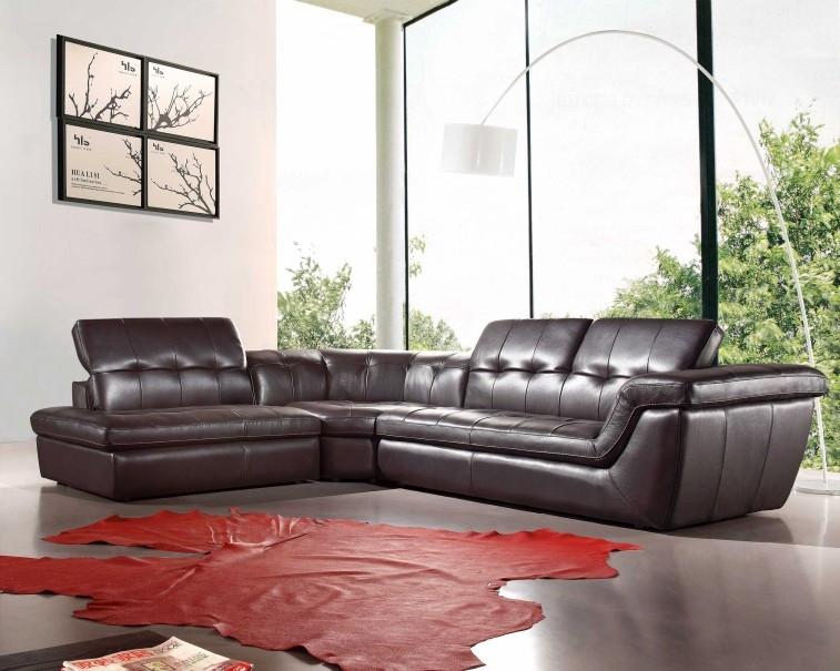 Divani Casa Refata - Modern Italian Leather Sectional Sofa by VIG Furniture