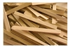 Long Wood Wedges, 50 pack