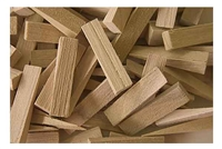 Small Wood Wedges, 100 pack