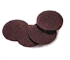 "1/4"" Thick, Bag of 25, 3"" Rubber Flat Shims"