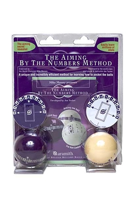 "Aramith® Mike Massey ""Aim By Numbers"" Balls"