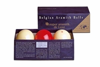 Super Aramith Deluxe Carom Ball Set, 61.5mm
