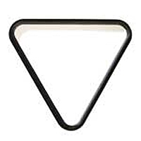 Black Plastic Triangle