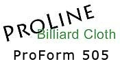 "ProLineâ""¢ ProForm 505"