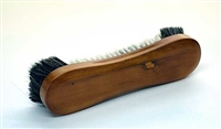 "Honey Maple 10 1/2"" Horsehair Table Brush"