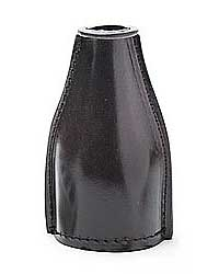 Brown Leather Shaker Bottle