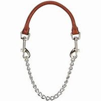 "Weaver 26""Leather/Chain Goat Collar"