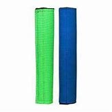 Weaver Noseband Covers Set of Two Blue/Green