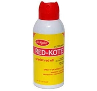 Dr.Naylor Red-Kote Scarlet Red Oil 128gram.