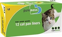 Pureness Large Cat Pan Liners 12ct