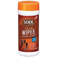 Lexol Quick Wipes Leather Cleaner 25 Pre-Moistened Towels