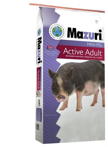Mazuri Mini-Pig Active Adult 25#