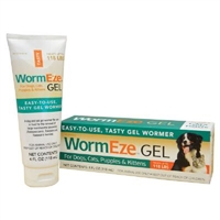 WormEze Gel For Dogs, Cats, Puppies & Kittens 4 oz