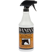 Banixx Horse & Pet Care Wounds, Fungus, Scratches, Rain Rot & Ringworm 32oz.