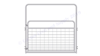 "Cattle Gate Panel with Drop Pens:  52""H x 8'L"