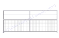 "1-7/8"" Horse Corral Foaling Panel 4 Rail With Welded Wire:  12'W x 5'H"