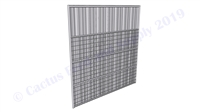 Hybrid Horse Shelter Wall Panel Welded Wire:  8'H x 8'W