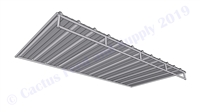 6' x 12' Mini Horse Shelter Trussed Roof Panel