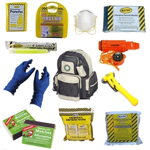 Complete Beginner Survival Kit and BOB