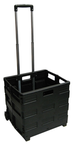 Large Folding Cart - Black