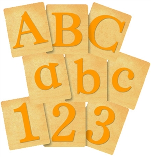 Classic Letters and Numbers Set