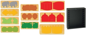Ellison SureCut Die Set - Kids Books (10 Die Set) - Double Cut