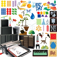 Ellison Die Cuts -  Excel Math & Science Starter Set- 4 IN