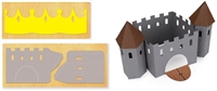 Ellison SureCut Die - Castle 3-D and Crown Set-- Double Cut