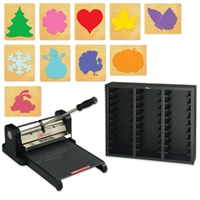 Ellison Prestige Pro Starter Set w/SureCut Holiday Set #2 - Large