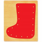 Ellison SureCut Die - Lacing Stocking - Extra Large