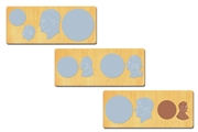 Ellison SureCut Die Set - Money, Coin Set (3 Die Set) - Double Cut