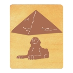Ellison SureCut Die - Great Pyramid of Giza & Sphinx - Large