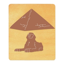 ***Special Order*** Ellison SureCut Die - Great Pyramid of Giza & Sphinx - Large